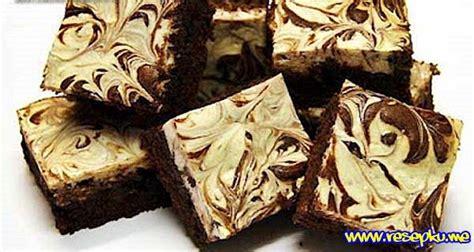 cara membuat brownies kukus pink marble resep brownies panggang coklat keju marble spesial resep