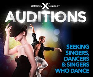 celebrity singers auditions open auditions singers for celebrity cruises in orlando