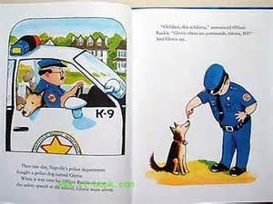 walking in the children literature officer