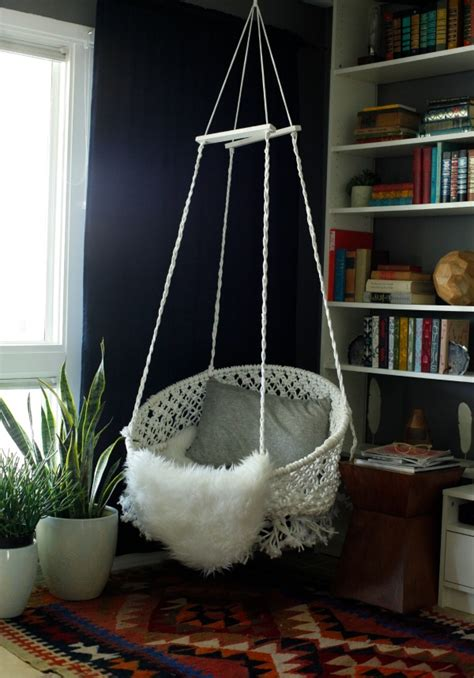 Hanging Reading Chair by Diy Hanging Macram 233 Chair