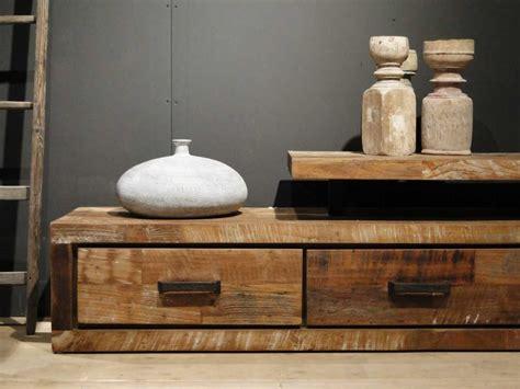tv meubel van hout tv meubel oud hout orvault robuustetafels nl