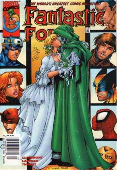 Wedding Comic Book Covers by Comic Book Character Valeria Doom Marvel