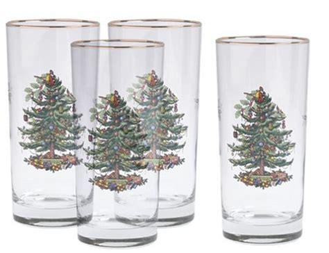 Spode Glasses - spode tree hiball glasses set of 4 home garden