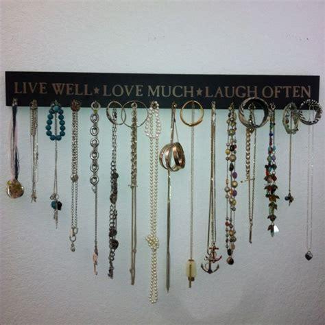 do it yourself jewelry do it yourself jewelry organizer slash wall decoration