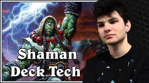 reynad shaman deck hearthstone gvg deck tech with alesh s aggressive shaman