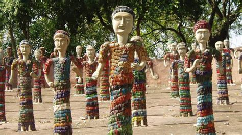 Rock Garden In Chandigarh A Photowalk Through10 Statues That Unveil Creative India Travel India