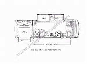 newmar floor plans 2011 newmar bay star 2901 gas motorhome