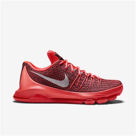 imagenes de zapatos nike kd kd 8 zapatillas de baloncesto hombre carmesi brillante