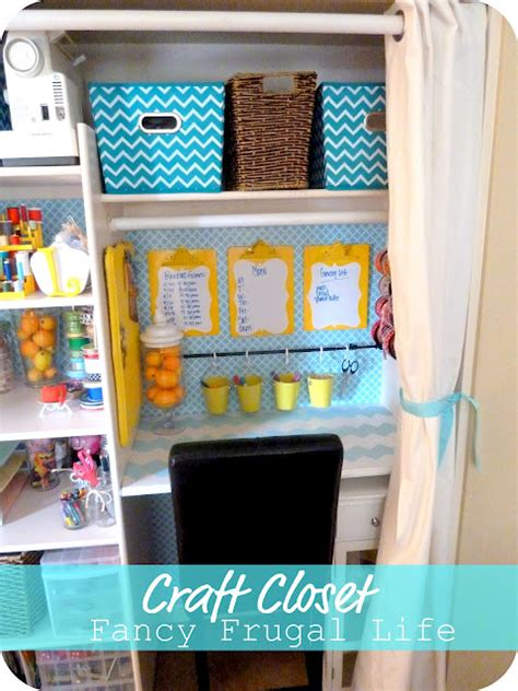 Craft Room Closet Storage Ideas by Craft Rooms In A Closet Craft Storage Ideas