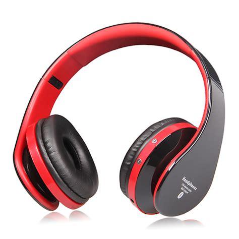 eb203 bass stereo bluetooth headset hifi wireless headphone with microphone fm radio tf