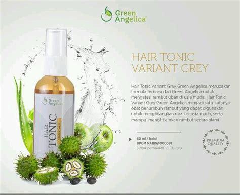 Obat Botak Amali Aman Green Hair Tonic jual obat uban hair tonic green varian grey di