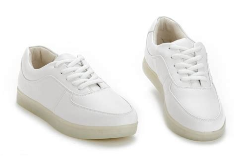 best sport shoes 2014 fashion cool lighted sneakers 2014 white platform