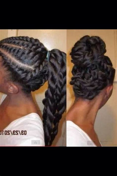 flat twist and bun style flat twist out turned into bun lovely hair multiple