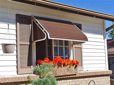 Decorative Awnings For Homes by Metal Awning For Mobile Homes Aluminum Porch Awnings And