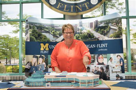 Um Flint Now Um Flint by Um Flint S Pavilion To Quot Go Blue Quot