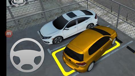 sari araba park etme direksiyonlu araba oyunlari araba