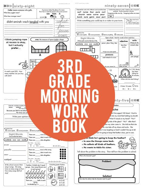 daily morning work a year s worth of reasoning and multidisciplinary problems books 3rd grade common aligned morning work second story
