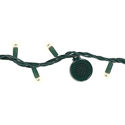 string lights with speakers bright tunes 26 foot 80 light led string lights with