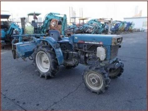 mitsubishi tractor n a used for sale