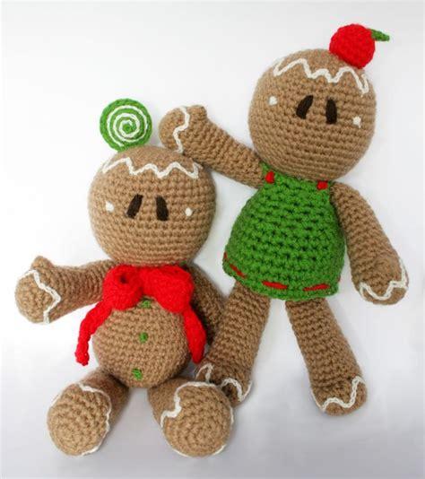 crochet pattern gingerbread man gingerbread man pdf pattern amigurumi crochet pattern
