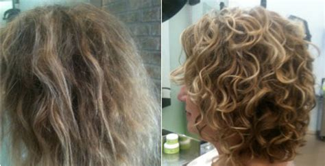 before and after cut and perm pictures we are devacurl certified c mon all you curly guys gals