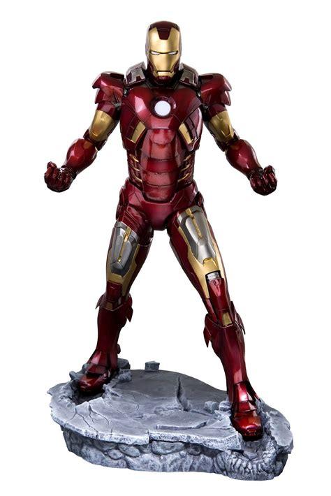 iron man marvel studios the avengers movie iron man mark vii artfx statue