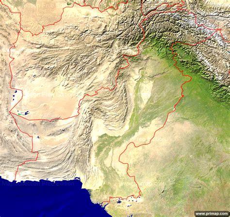 pakistan map satellite primap national maps