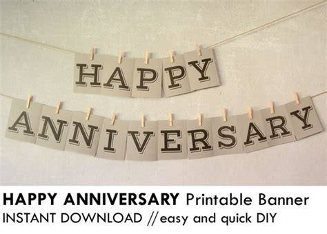 Unavailable Listing On Etsy Happy Anniversary Banner Template