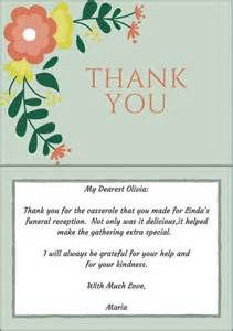 33 best funeral thank you cards of as and note
