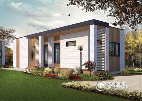 modern tiny house plans w1906 modern 631 sq ft tiny house plan 2 to 3 bedrooms 9 ceiling ideal for