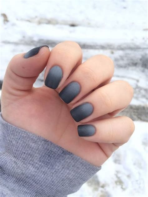 matte look nail 15 matte nails ideas that are currently on trend styleoholic