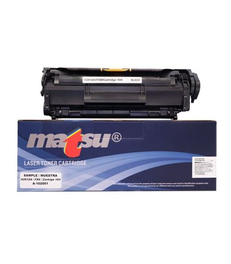Toner Cartridge Hpq2612a 1 Hp Q2612a Compatible Black Toner Cartridge For Use In