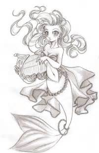 Anime mermaid drawing images amp pictures becuo