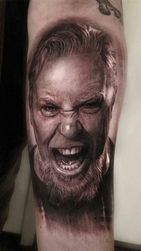 metallica james tattoo awesome pinterest