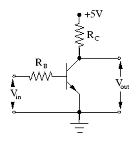 transistor not gate inverter transistor circuits