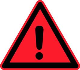 warning sign exclamation triangle vector clip bmw