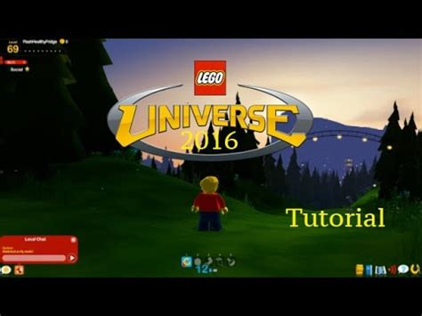 lego universe tutorial play lego universe in 2017 luniserver tutorial youtube