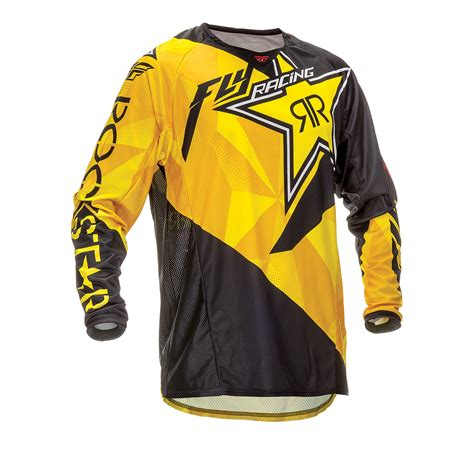 rockstar motocross gear fly racing 2016 kinetic rockstar motocross jersey