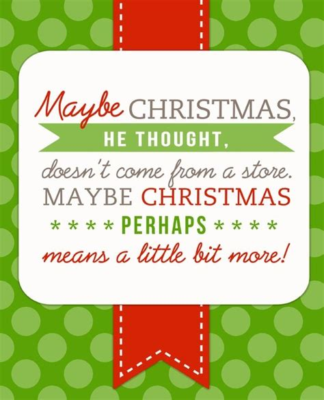 printable version of how the grinch stole christmas quotes by the grinch quotesgram