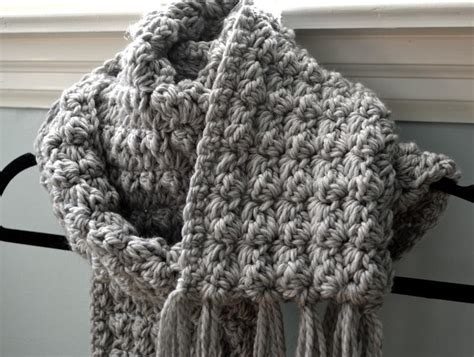 texture pattern scarf cozy crochet textured scarf by modern grace craftsy