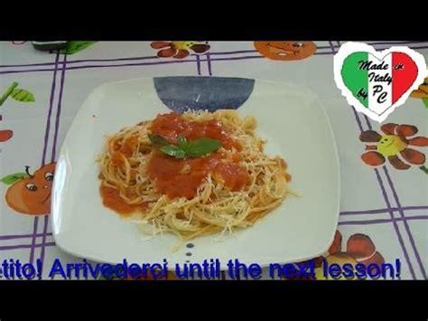 basi della cucina italiana lezioni di cucina italiana 5 sugo al pomodoro