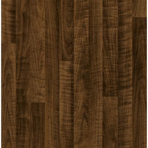 shop style selections walnut wood planks laminate sle at lowes com shop style selections 7 6 in w x 4 23 ft l curly walnut