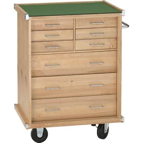 9 Drawer Cabinet by 26 Quot Maple 9 Drawer Cabinet Grizzly Industrial