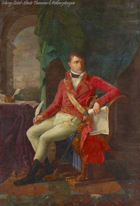 biography of napoleon bonaparte in french portraits of napoleon as first consul 1802 by antoine