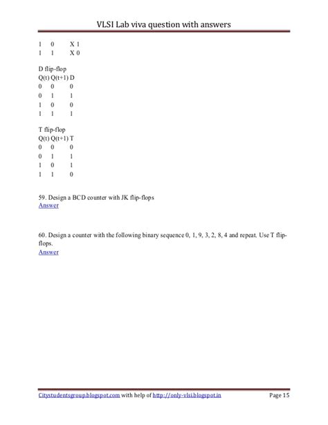 design lab viva questions vlsi lab viva question with answers