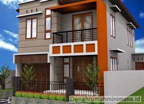 desain depan rumah 2 lantai desain rumah minimalis 2 lantai tak depan kokoh serta