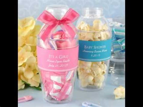 Diy Baby Shower Souvenirs Ideas Youtube Inexpensive Wedding Favors To Make Yourself