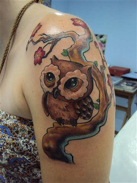 feminine owl tattoo designs feminine owl tattoo designs