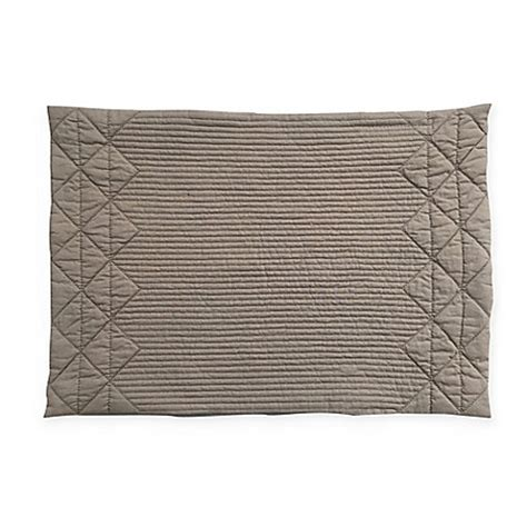 bed bath and beyond placemats quilted placemat in taupe bed bath beyond