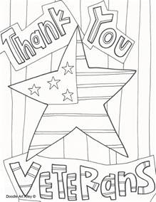 veterans day coloring pages printable veterans day coloring pages celebration doodles